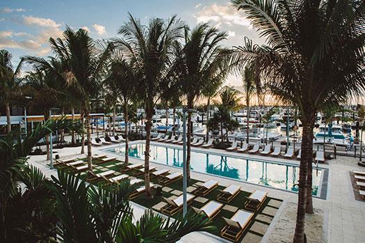 Perry Hotel Key West Poolside